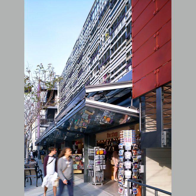facade tectonics-- retail space